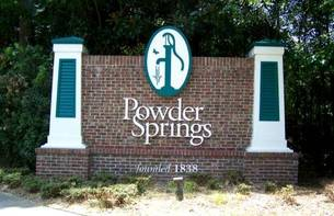 Powder Springs, GA Sign